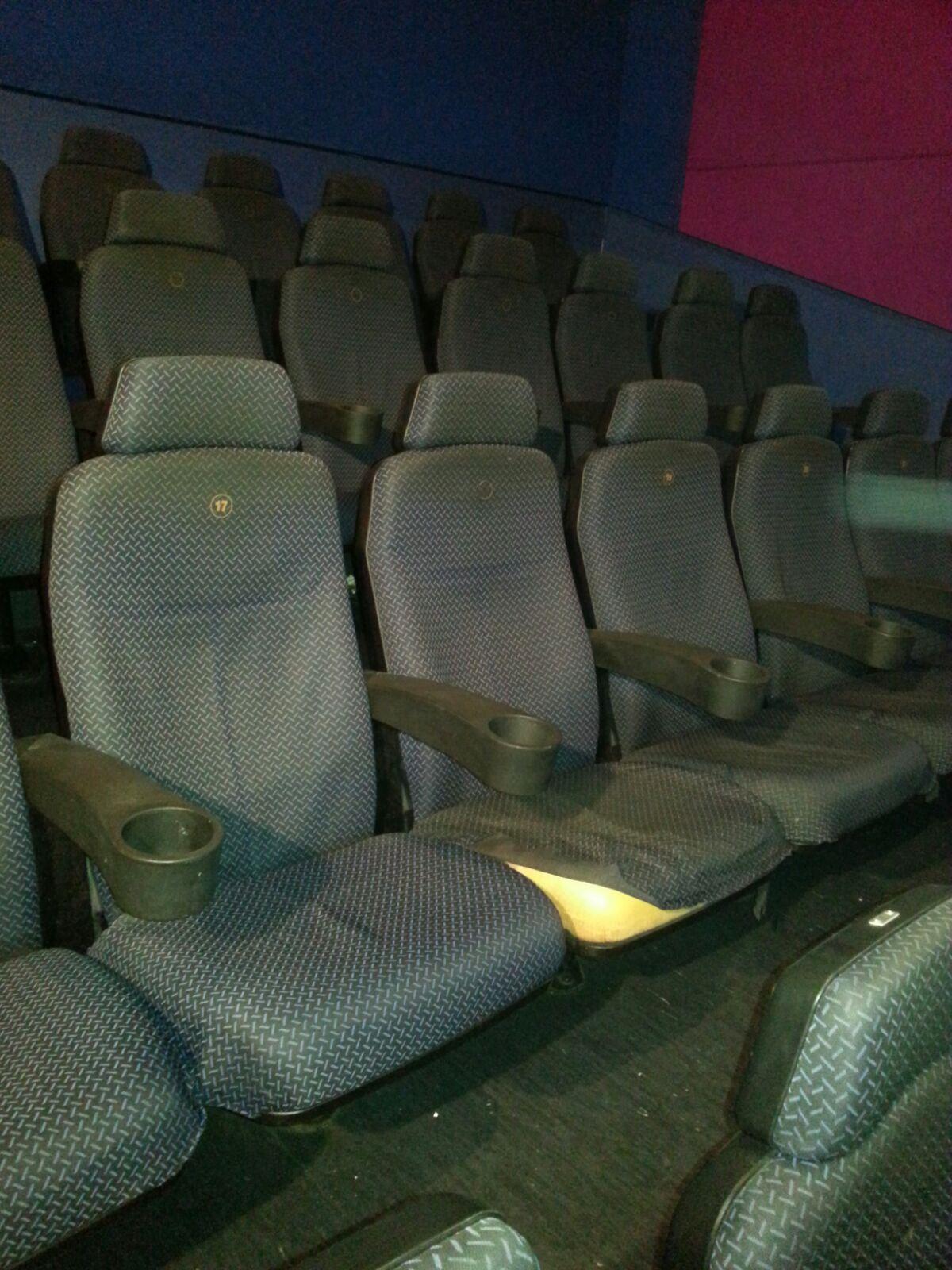tapizado de butacas cine