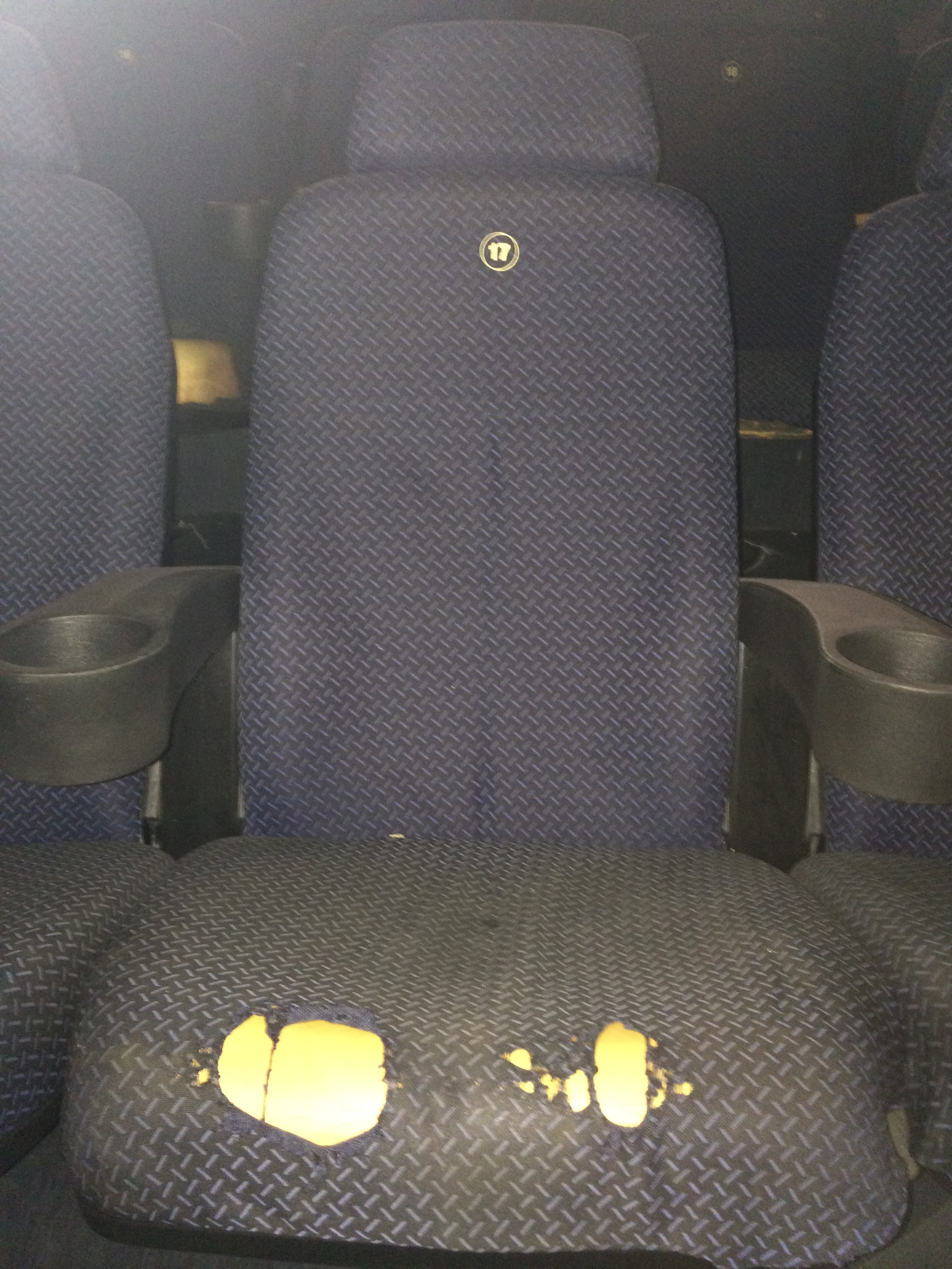 Tapizado Asientos de cine, teatro